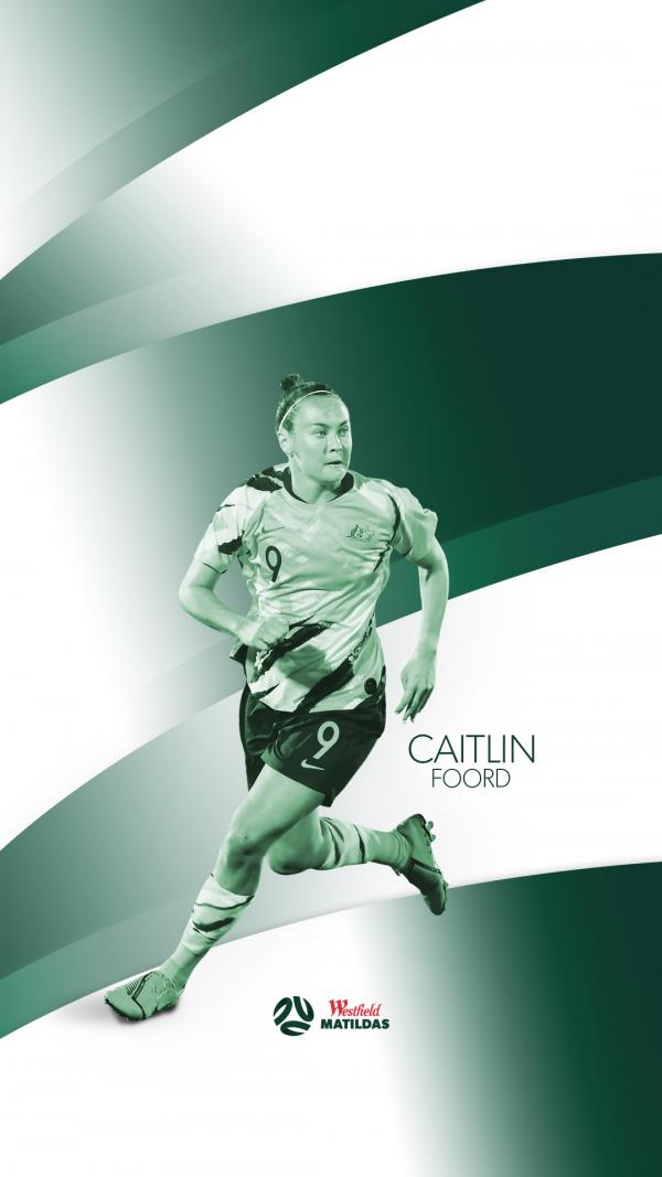 Caitlin Foord mobile wallpaper