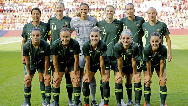 Matildas line-up v Holland 2019