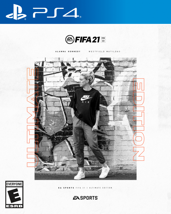 Alanna Kennedy FIFA 21 cover