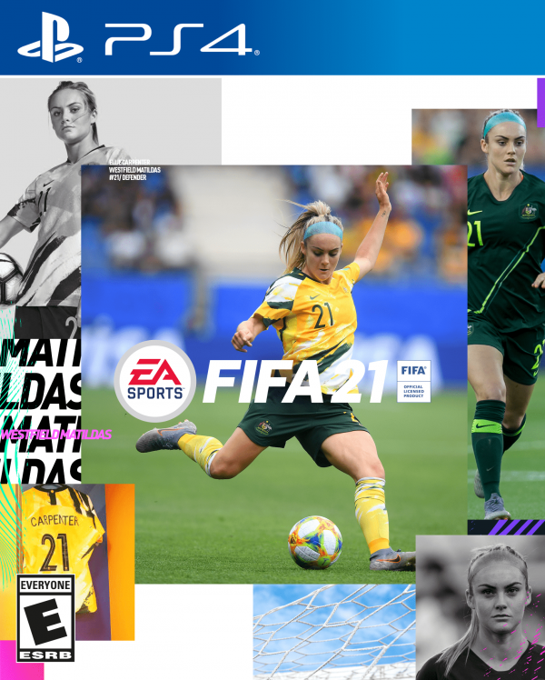 Ellie Carpenter FIFA 21 cover