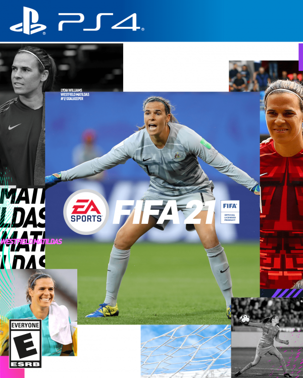Lydia Williams FIFA 21 cover