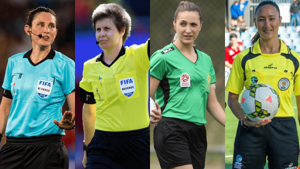 Four Australian match officials in contention to referee on home soil in 2023