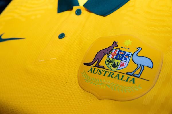 Australia Crest on Nike Kit