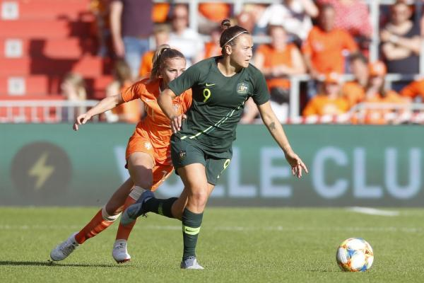 Matildas v Netherlands in 2019