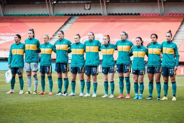 Matildas v Netherlands line up