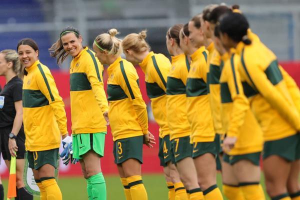 Matildas line up