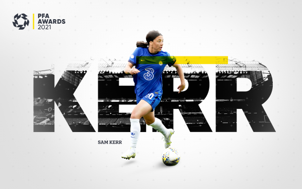 Sam Kerr uk PFA Award nomination