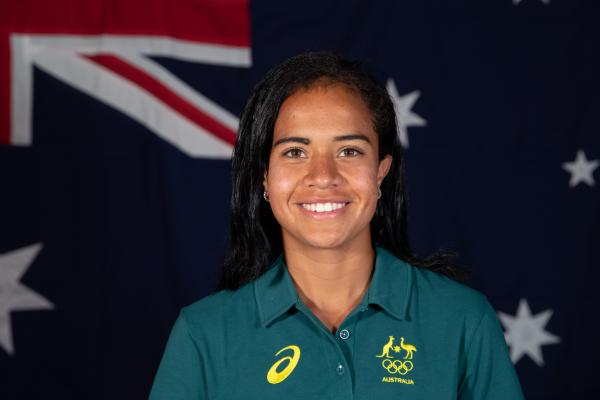 Mary Fowler 2020 Olympic portrait