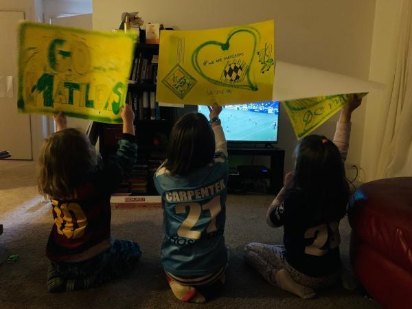 Lloyd children, Ellie Carpenter fans