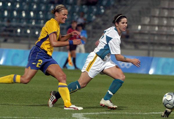 Sarah Walsh v Sweden 2004 Olympics