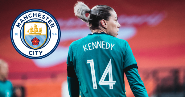 Alanna Kennedy signs for Manchester City