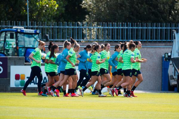 Matildas training camp Ireland Sept 2021