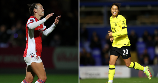 Foord and Kerr on the scoresheet in the Women's FA Cup