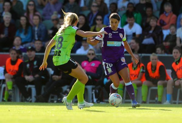 Westfield Matildas in the Westfield W-League: Kerr, Ibini strike yet again