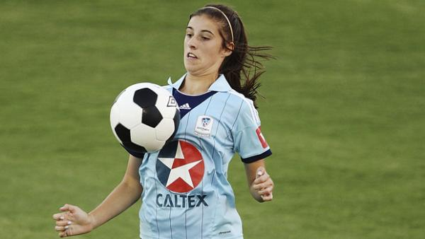 Amy Harrison netted a second half strike for the Young Matildas against China.