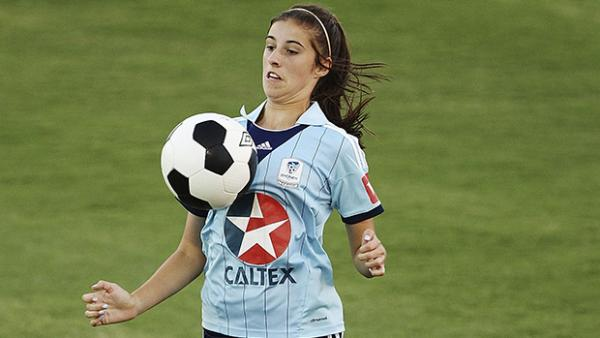 Sydney FC's Amy Harrison scored the opening goal against Vietnam.