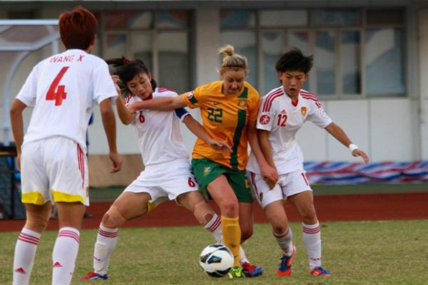 Young Matildas downed 2-1 by China