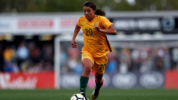 Sam Kerr admits she hasn't had time to reflect on her incredible exploits over the last 12 months.