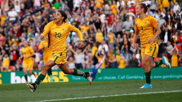 Sam Kerr has seen plenty in her incredible career but admits Saturday's historic win over Brazil is something she'll cherish forever.