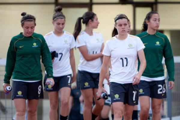 Westfield Young Matildas (U17s) training camp squad