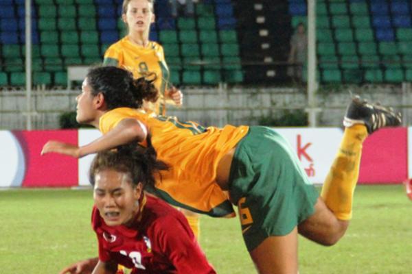 Young Matildas book spot in finals
