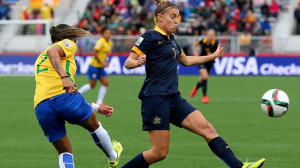 Steph Catley says the Matildas have recovered well from their win over Brazil.