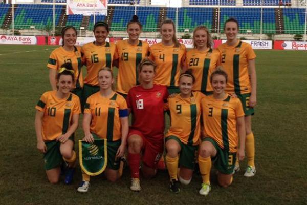 Young Matildas down Malaysia