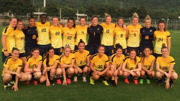 The Young Matildas squad went down 2-0 against Japan.