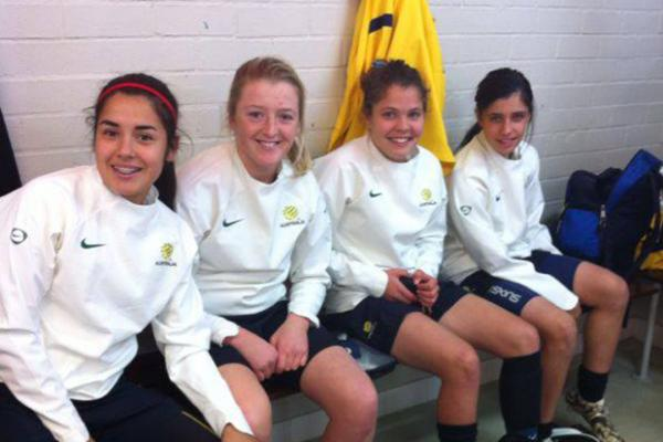 Mini Matildas and Kiwis share honours