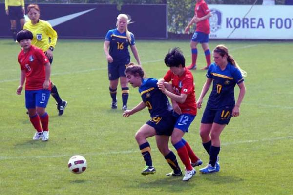 Westfield Australian U16s downed by Korea Republic