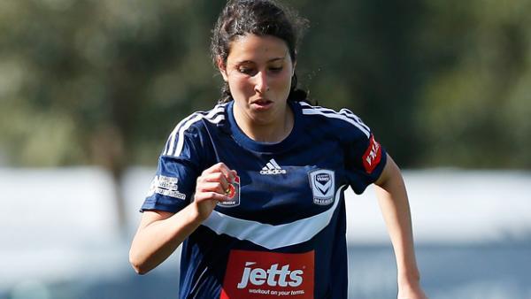 Melbourne Victory youngster MelindaJ Barbieri.
