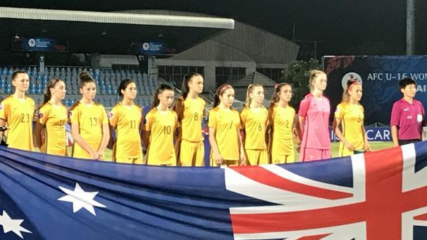 Westfield Junior Matildas lost their second match at the AFC U-16 Women's Championship 7-0 to DPR Korea
