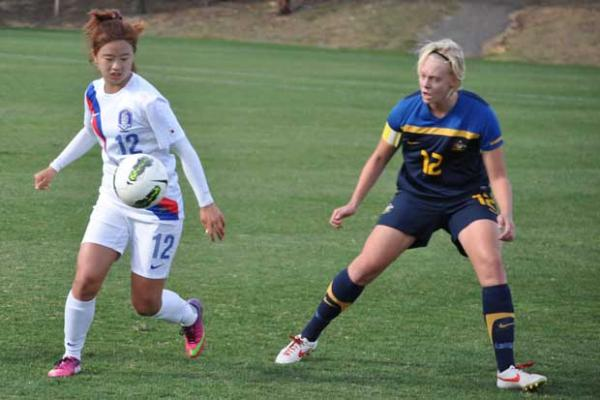 Young Matildas punished by Korea Republic