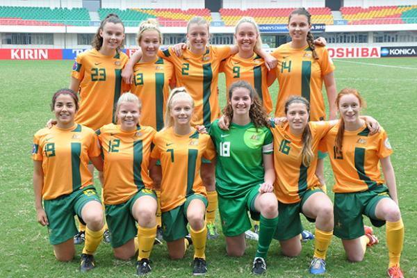 Mini Matildas claim 8-0 win over Bahrain