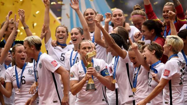 USA claimed their third Women's World Cup crown