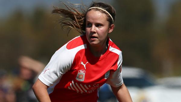 Emily Condon scored a hat-trick as the Young Matildas beat Timor Leste 20-0.