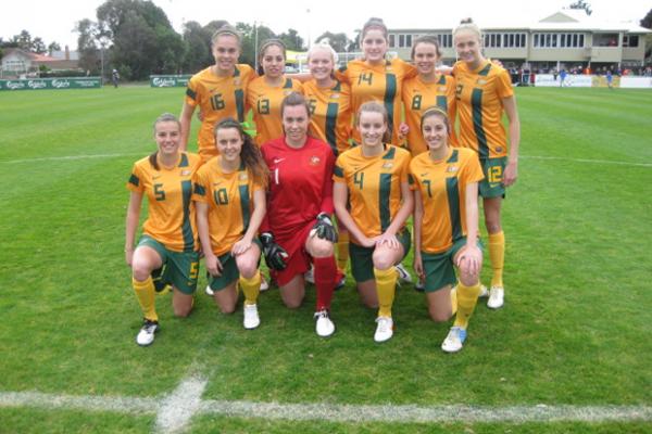 Young Matildas dominate Junior Ferns