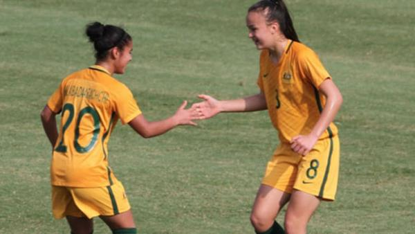 ​The Young Matildas have qualified for next year's AFC U-19 Asian Cup after beating Jordan 7-1 overnight.