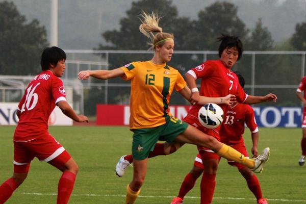 DPR Korea knock off Young Matildas