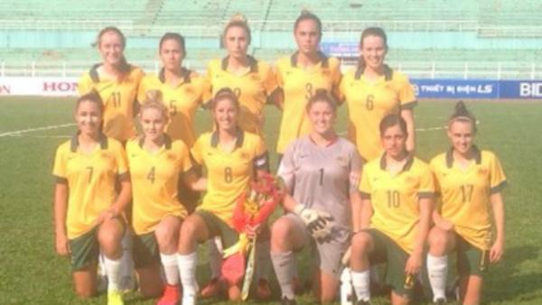 Young Matildas v Thailand starting XI