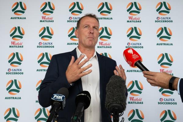 New Socceroos/Matildas logo